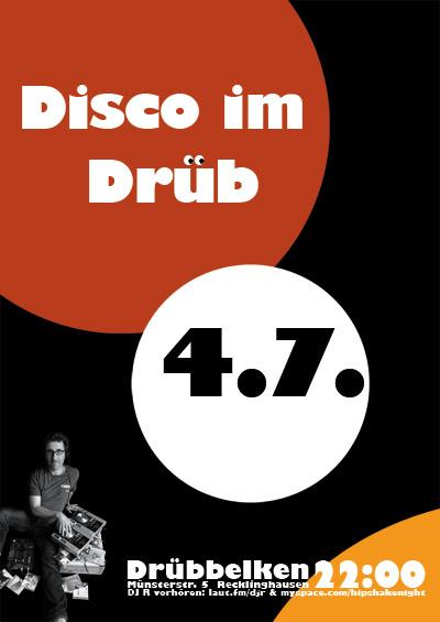 Disco im Drüb