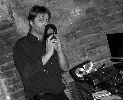 DJ Soko in Turin im November 2006